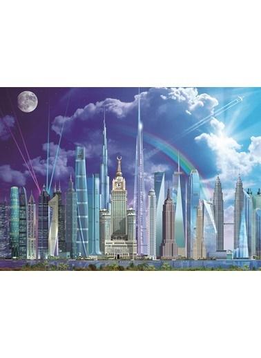 Educa Educa 1000 Parça Puzzle Tall Buildings Renkli